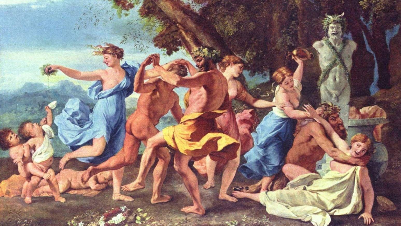 Никола Пуссен. Вакханалия. 1634