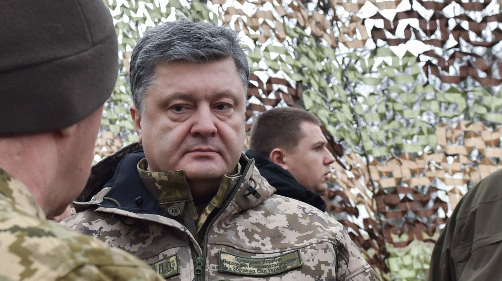 Порошенко в ДНР