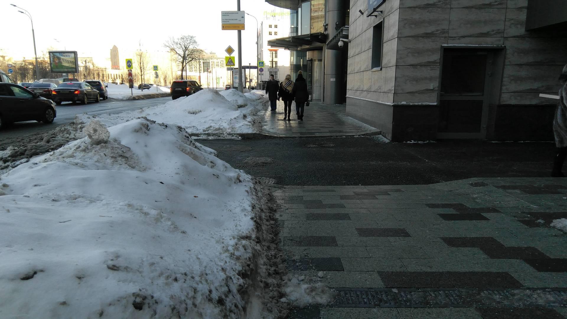 Москва, ул. Коровий вал, противоположная сторона