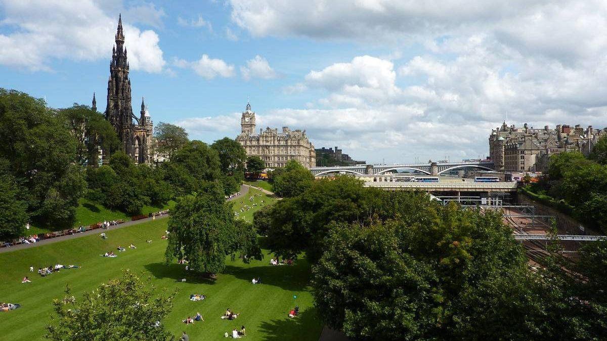 Городской парк Эдинбурга