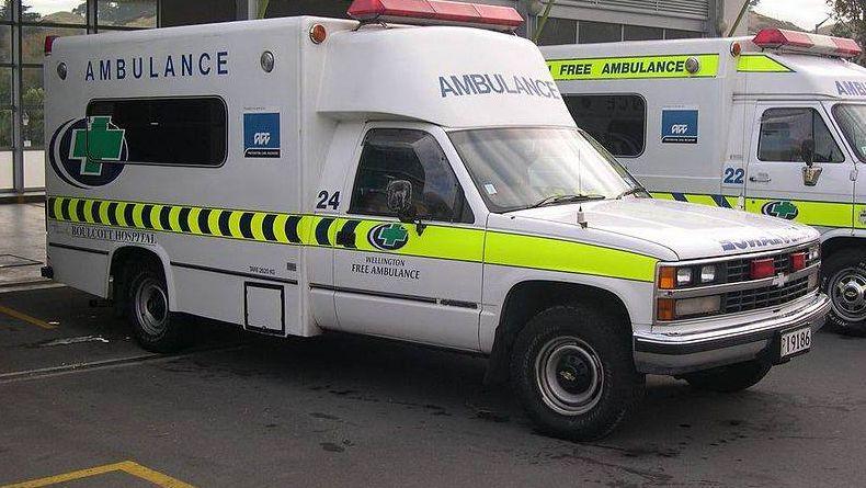Машины скорой помощи Новой Зеландии