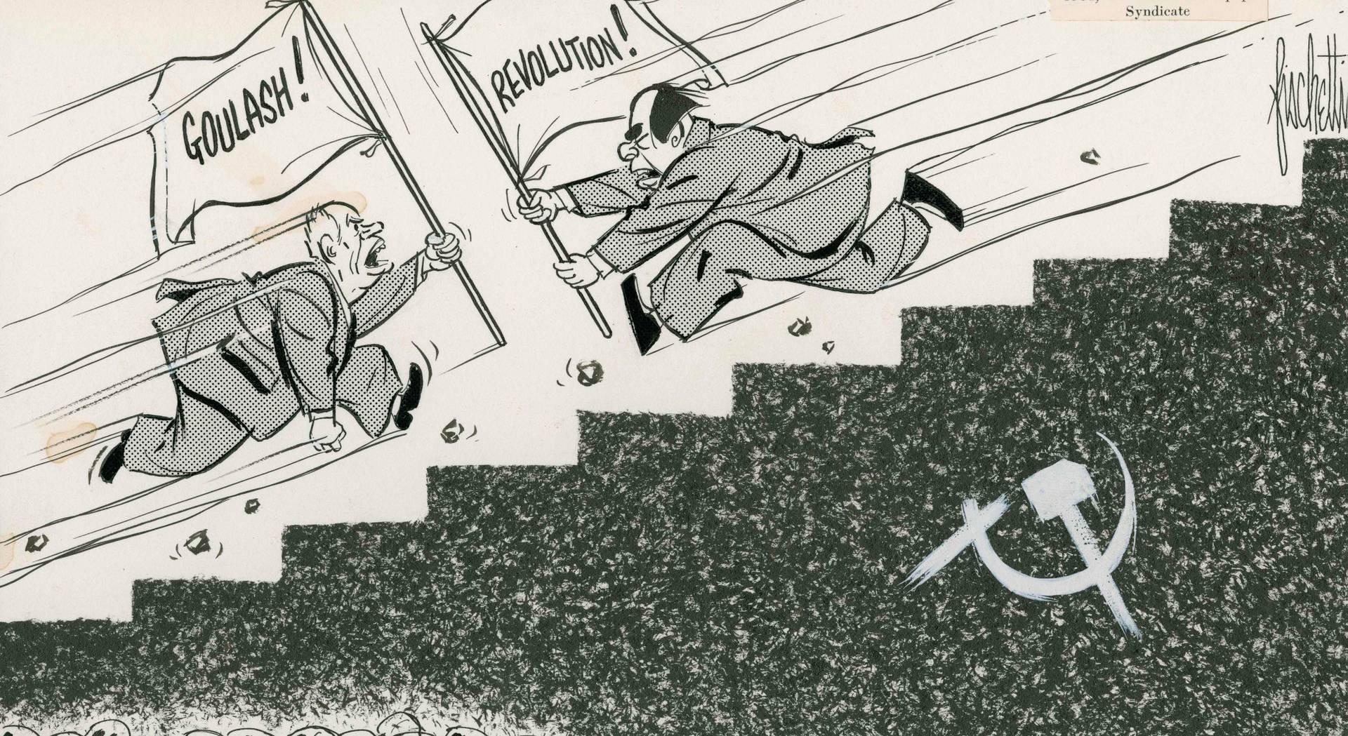 Джон Фишетти. «Вперед!». 10 ноября 1964 г.