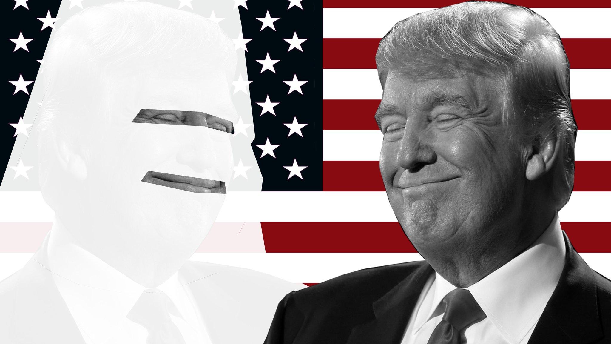 Bildergebnis für Трамп: «Я – не расист»