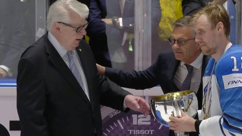 Сборная Финляндии — чемпион мира по хоккею 2019 года