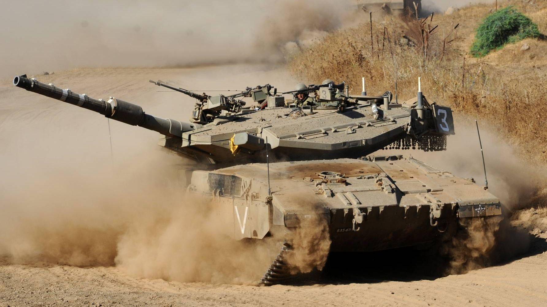 Израильский танк «Меркава»