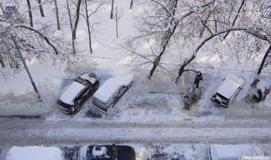 Москва, улица Веерная