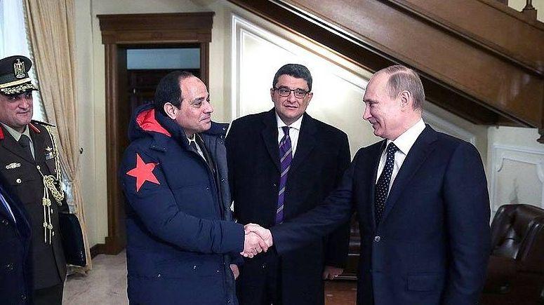 Абдель Фаттах ас-Сиси с Владимиром Путиным