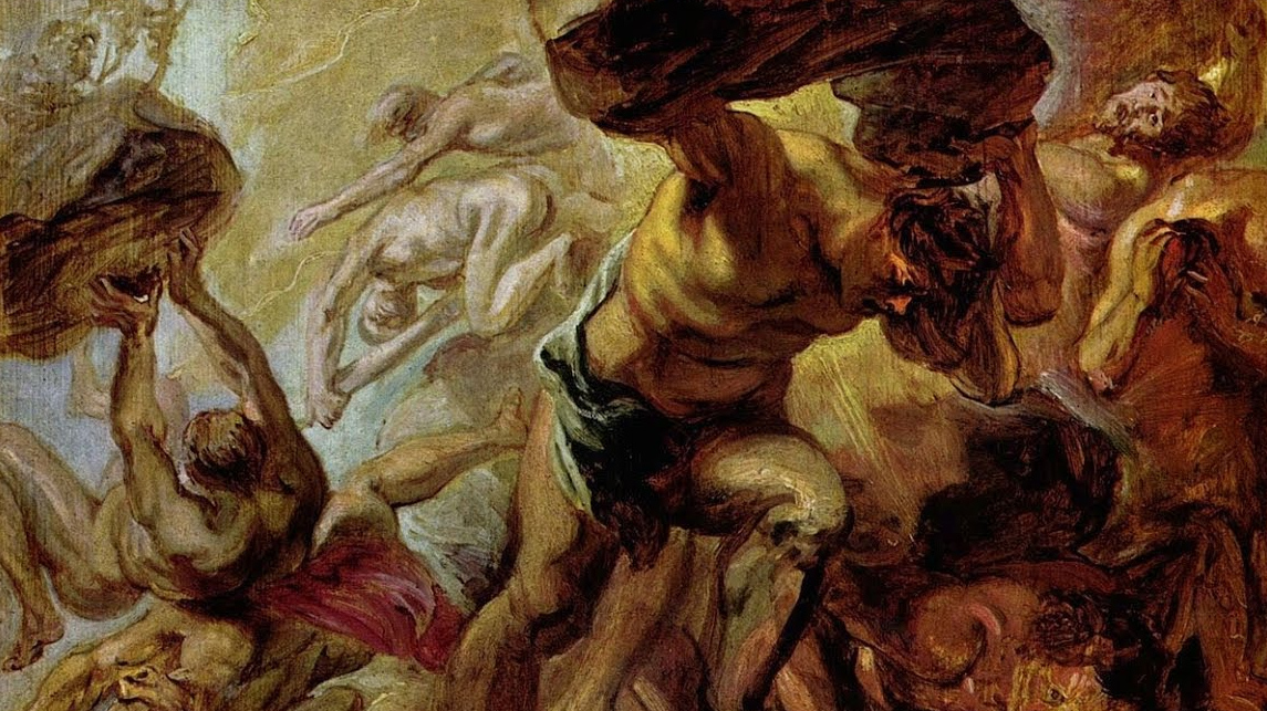 Питер Пауль Рубенс. Падение Титанов. 1637-1638