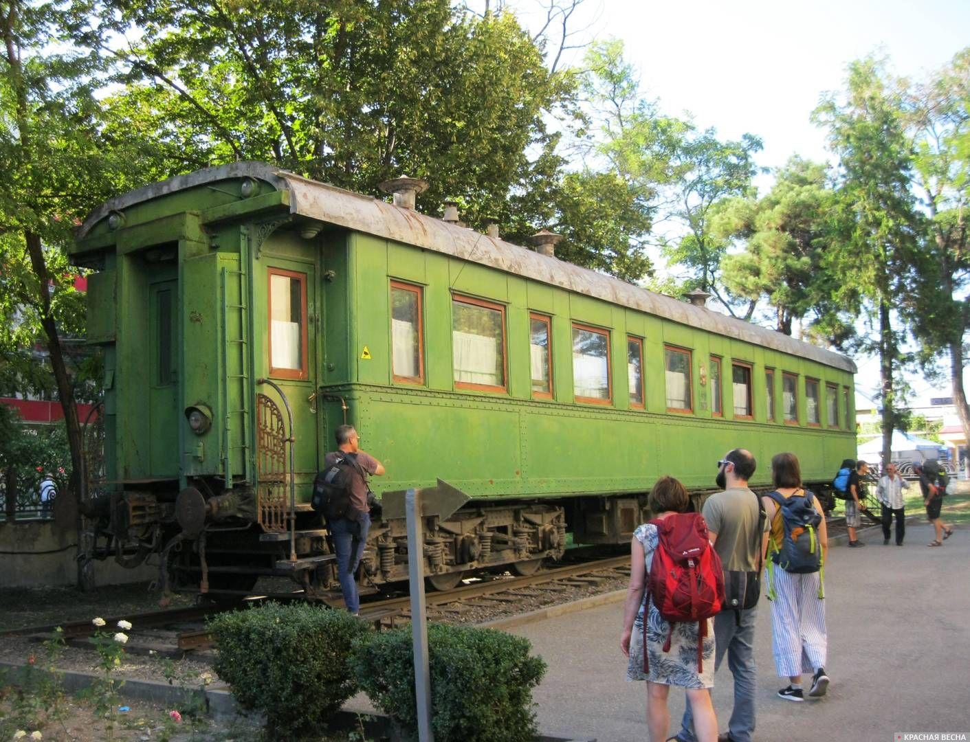 Бронированный вагон Сталина