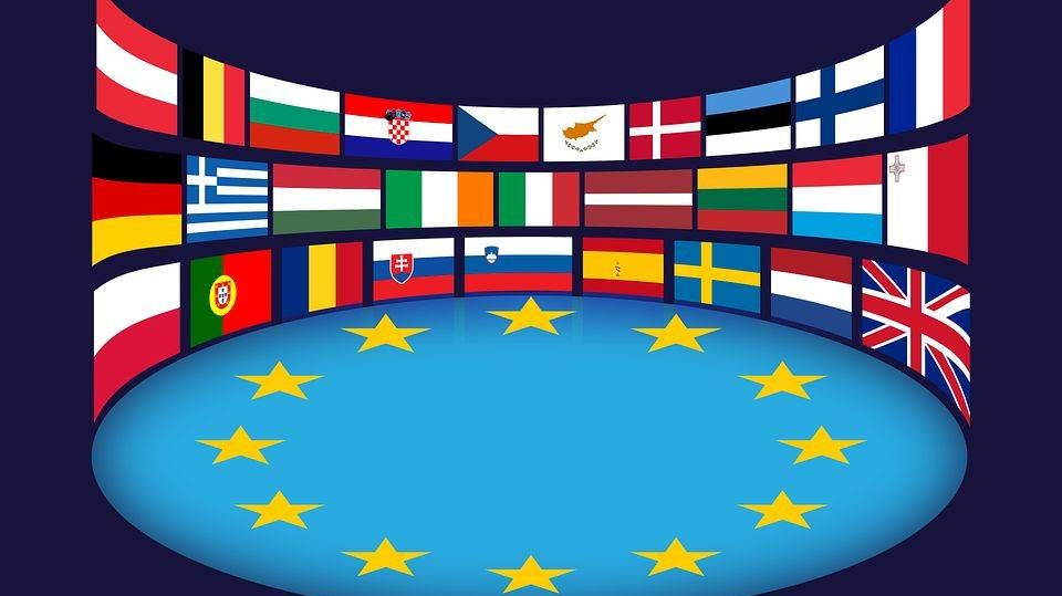 Европейский союз, флаги
