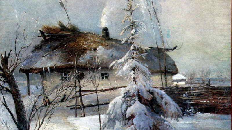 Алексей Кондратьевич Саврасов. Зима. 1891
