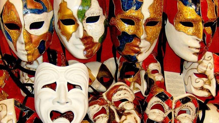Веницианские карнавальные маски