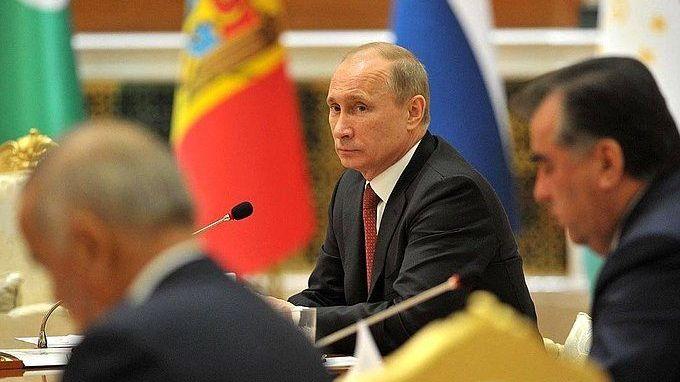 РФ со 2016-го года передаст функции председательства вСНГ Таджикистану— Путин
