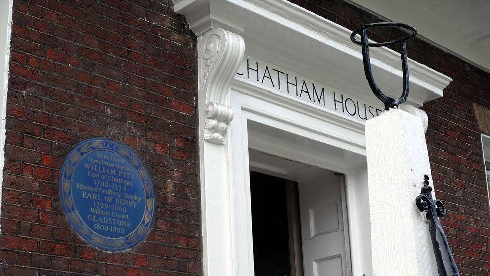 Чатэм Хаус. Лондон