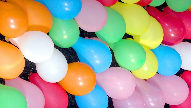 Картинки с надувными шарами, днем