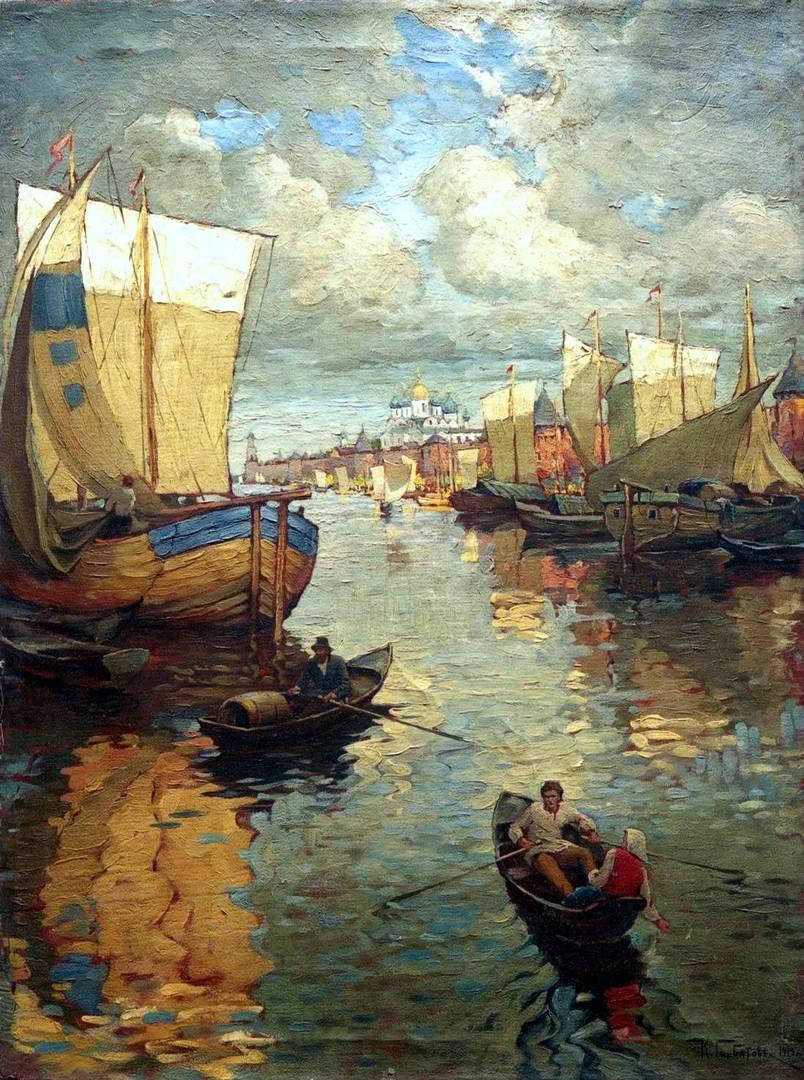 Константин Горбатов. Великий Новгород. 1919