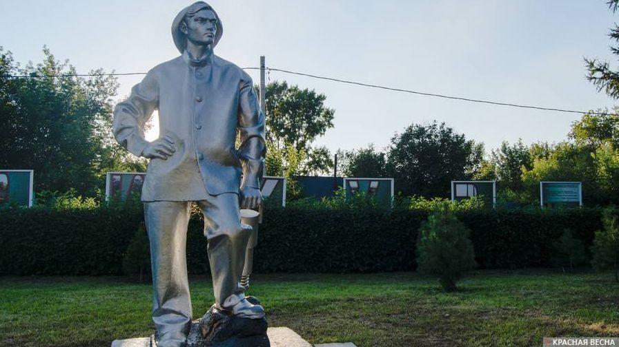 Памятник шахтеру. Кемерово