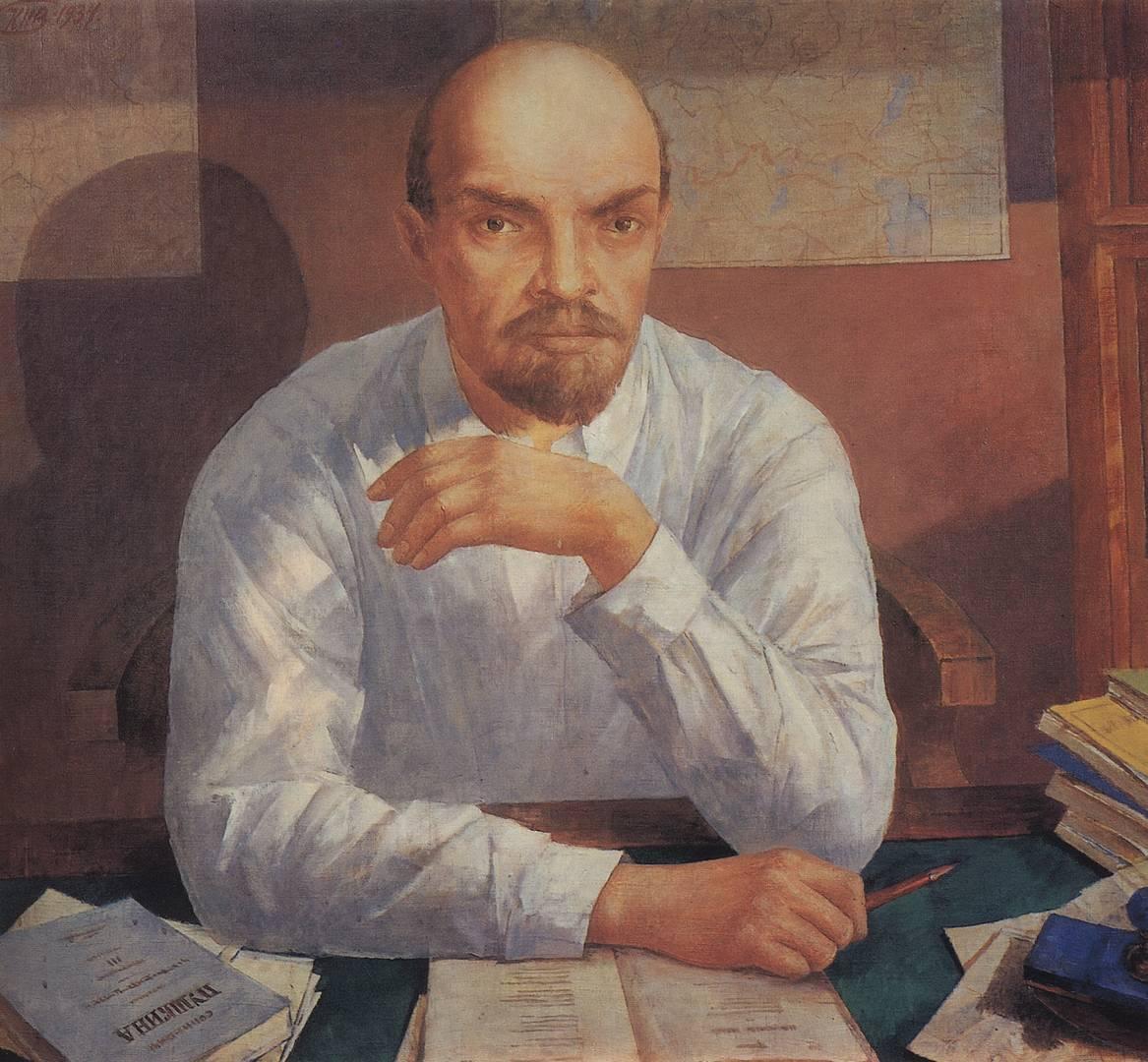 Портрет В. И. Ленина