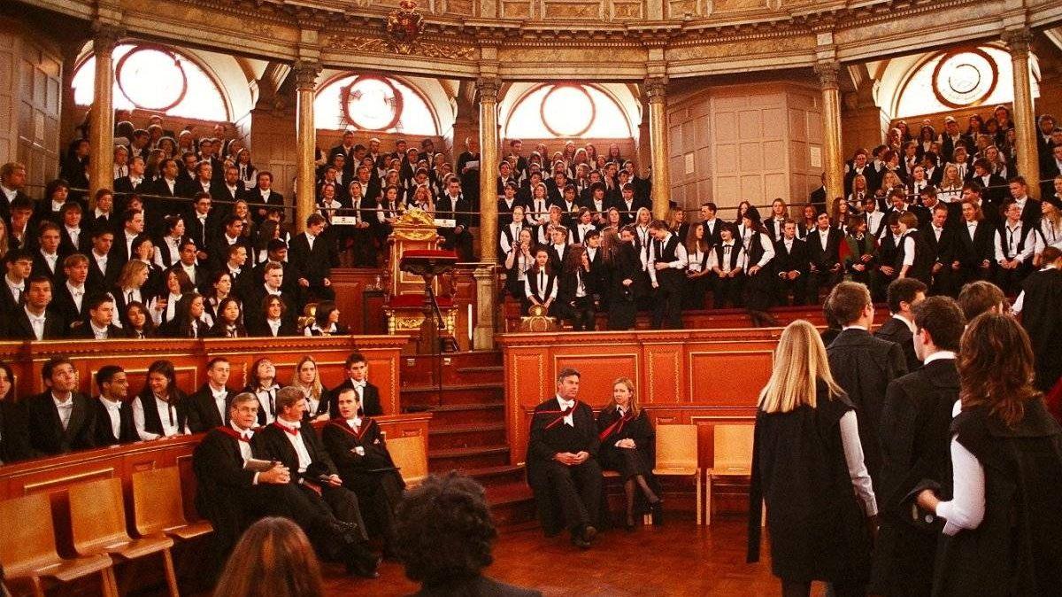 Студенты в Оксфорде