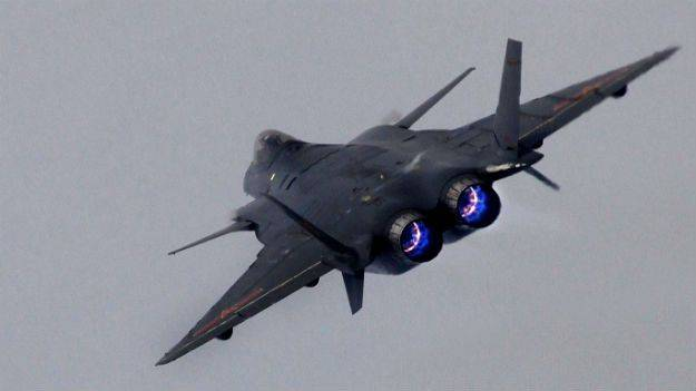 Chinas J-20 stealth fighter