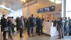 Аэропорт «Платов». Первые пассажиры. 07.12.2017