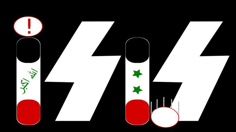 Сходство мерзавцев из ISIS и SS очевидно