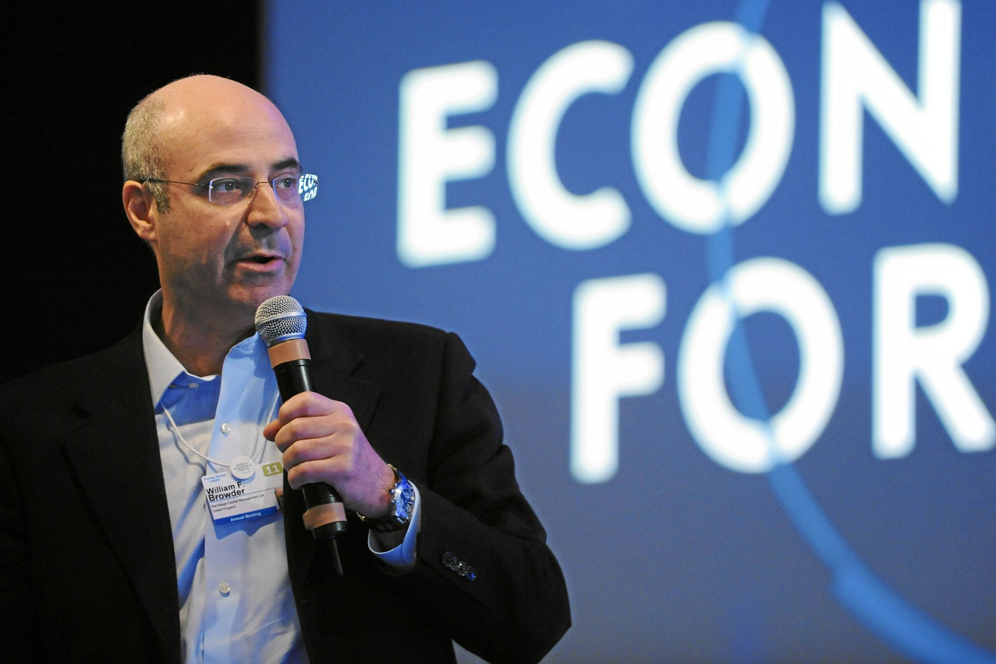 Вильям Браудер, автор: World Economic Forum from Cologny, Switzerland, лицензия: CC BY SA 2.0